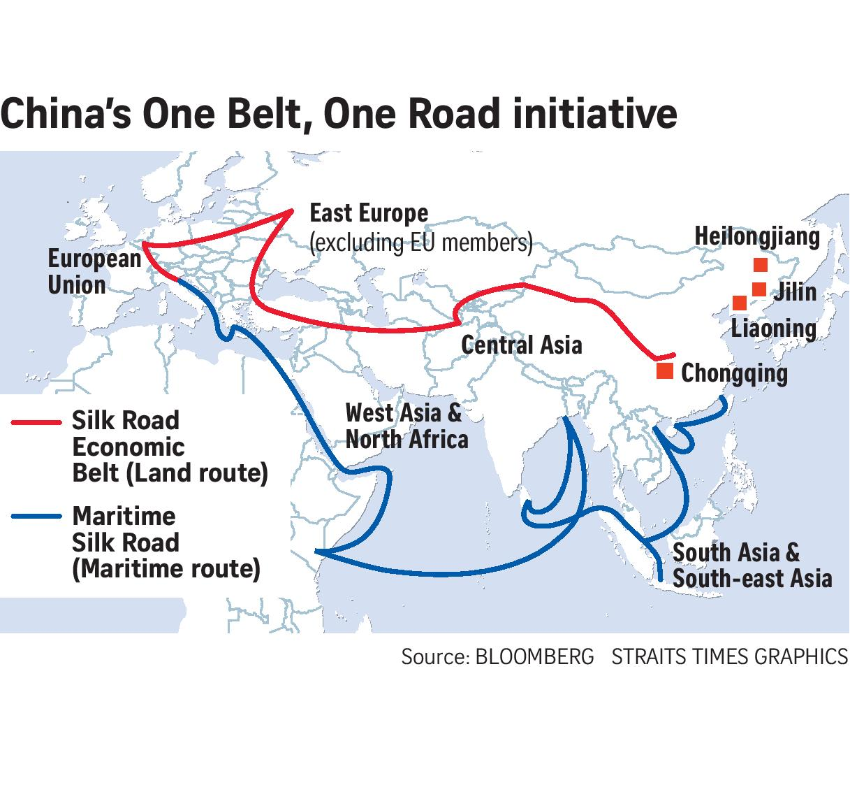 Whose $1 Trillion is China Spending on OBOR? - photo#41